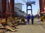 naval, astillero, trabajo, electromecánico